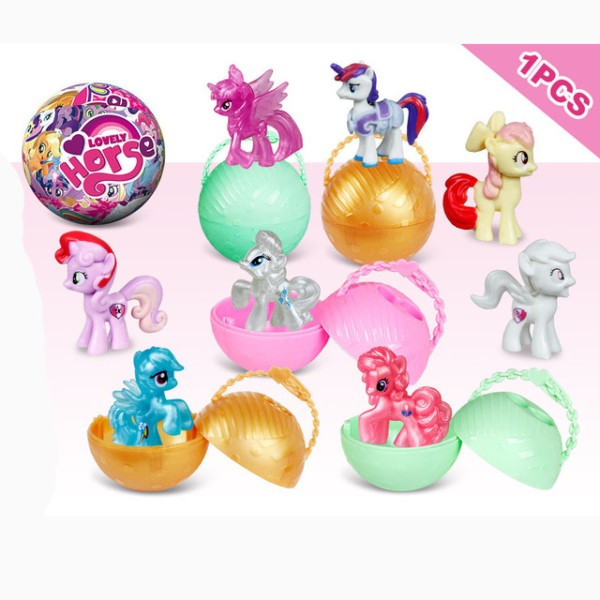 New Arrival Lol Dolls Cartoon Little Horse Unicorn Surprise Ball