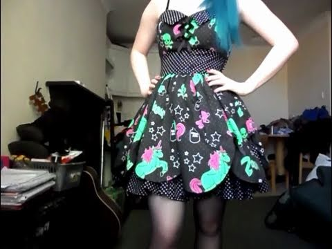 Ootd  Zombie Unicorn Dress!