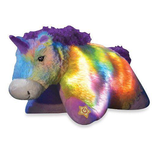 Pillow Pets® Glow Pets Rainbow Unicorn 16