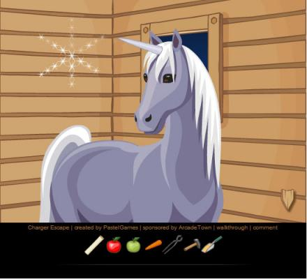 Play Free Charger Escape Horse To Unicorn Online Games