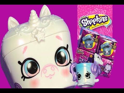 Precious Unicorn Pet Pod Wild Style Shopkins Season 9 Unboxing