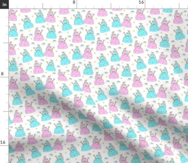 Princess Unicorn Fabric