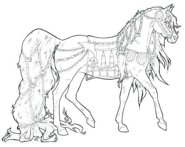 Printable Horse Colouring Pages Free Printable Horse Coloring
