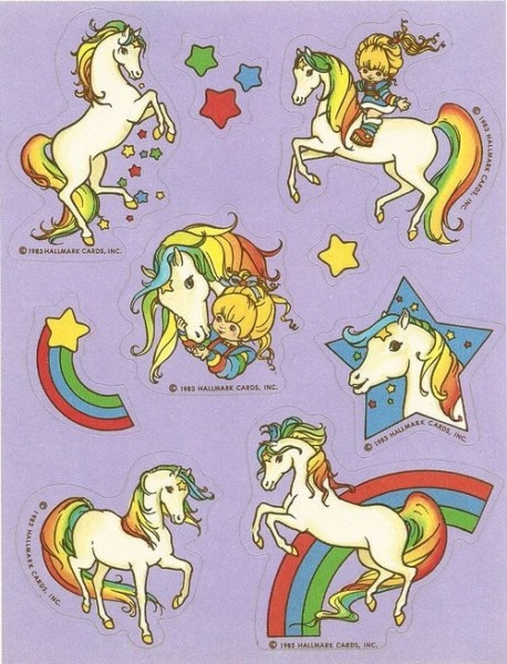 Rainbow Brite Stickers!