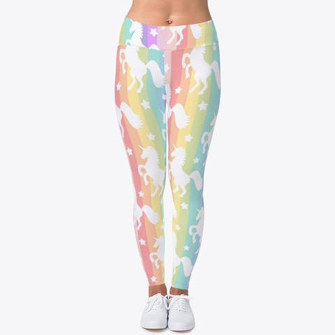 Rainbow Unicorn Workout Leggings Products From Workout Leggings