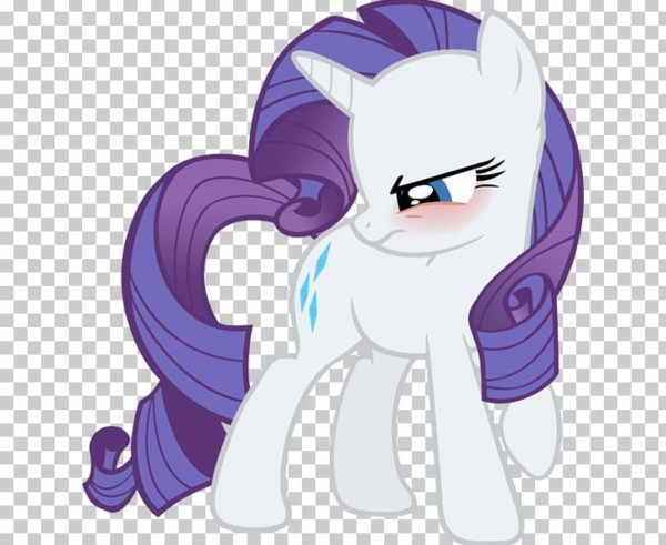 Rarity Pony Twilight Sparkle Derpy Hooves Blushing Png, Clipart