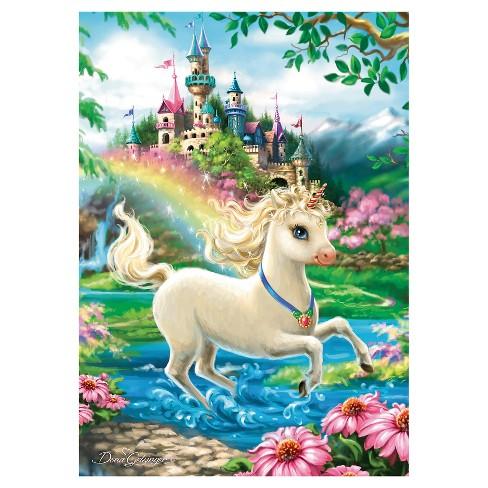 Ravensburger Unicorn Castle Puzzle 35pc   Target