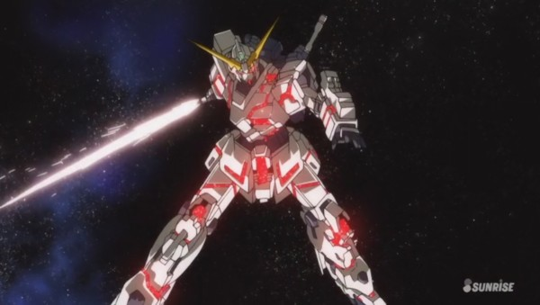 Review  Mobile Suit Gundam Unicorn Episode 1  Day Of The Unicorn