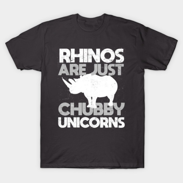 Rhinos Are Just Chubby Unicorns