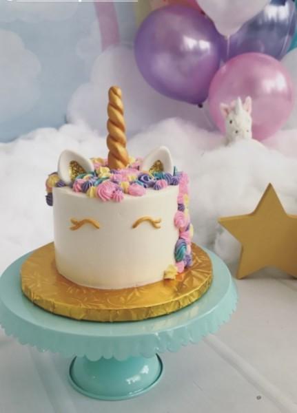 Rock Star Pastries » Unicorn Mini Cake