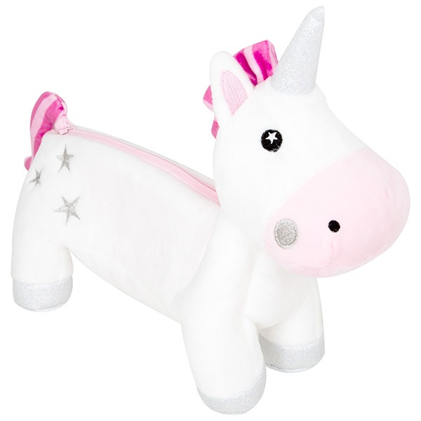 Sainsbury's Home Unicorn Plush Pencil Case
