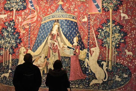 See The Lady And The Unicorn Tapestries On Our  Medieval