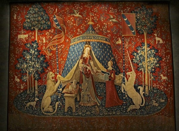 Seul Désir  From Lady And Unicorn Tapestry Series
