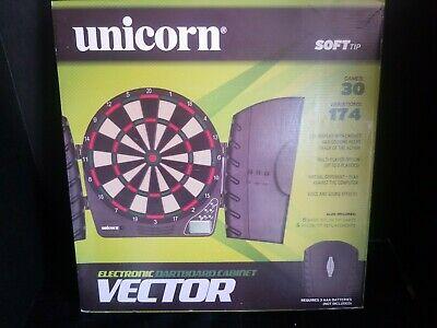 Sportcraft Unicorn Electronic Dartboard With Instruction Book