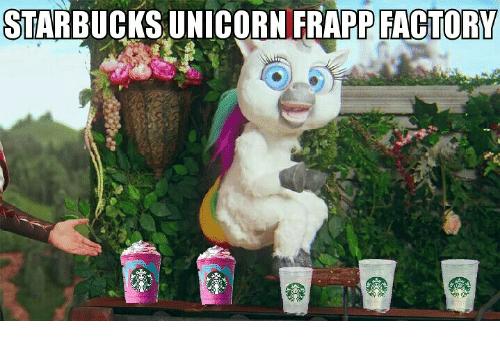 Starbucks Unicorn Frapp Factory