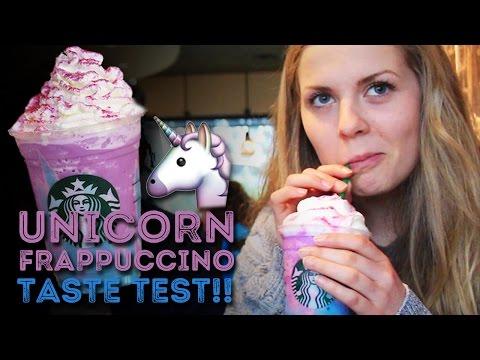 Starbucks Unicorn Frappuccino Review & Taste Test!!!