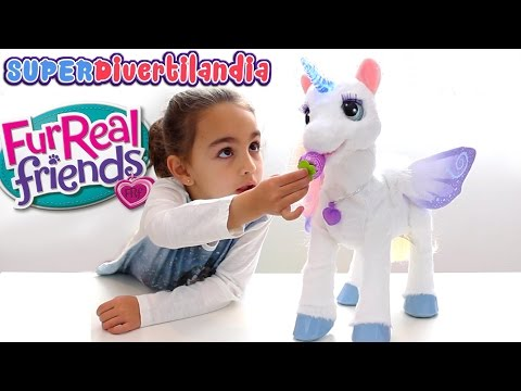 Starlily, El Unicornio Mágico De Furreal Friends