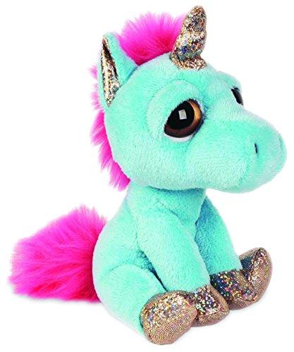 Suki Gifts Lil Peepers Fun Twinkle Blue Unicorn Plush Toy With