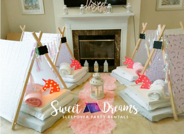 Sweet Dreams Party Rentals, Tent Rentals, Teepee Rentals