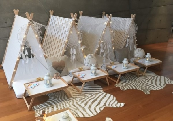 Teepee Sleepover Party In Sydney For 4 Kids