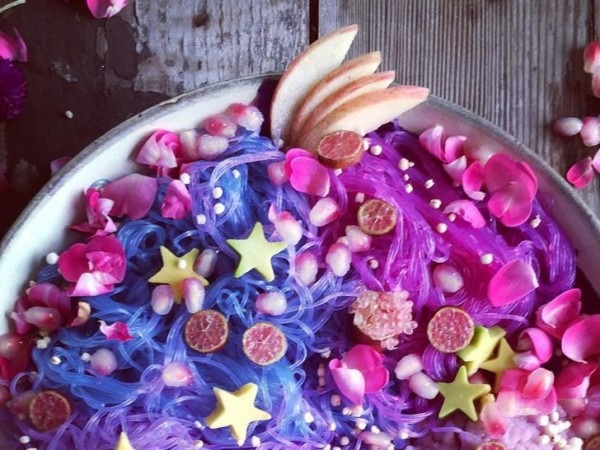 These (surprisingly Healthy) Unicorn Noodles Are An Instagram