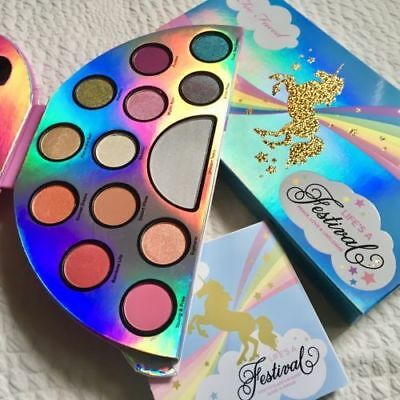 Too Faced Life's A Festival Unicorn Eyeshadow Palette Highlighter
