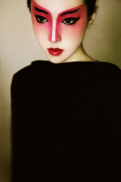 Traditional Japanese Makeup  Kabuki Makeup  Obviously Not For
