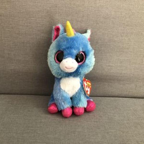Ty Beanie Boos 6 15cm Unicorn Big Eyed Stuffed Animal Collectible