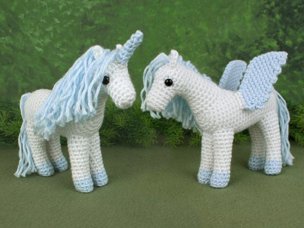 Unicorn And Pegasus Expansion Pack Crochet Pattern [ep017]
