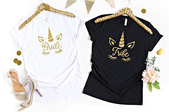 Unicorn Bride Shirt Unicorn Bridal Shower Bridalshower