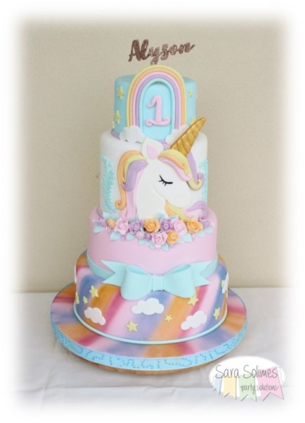 Unicorn Cake And Party Design