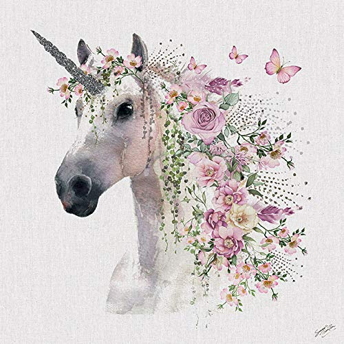 Unicorn Canvas Wall Art  Amazon Co Uk