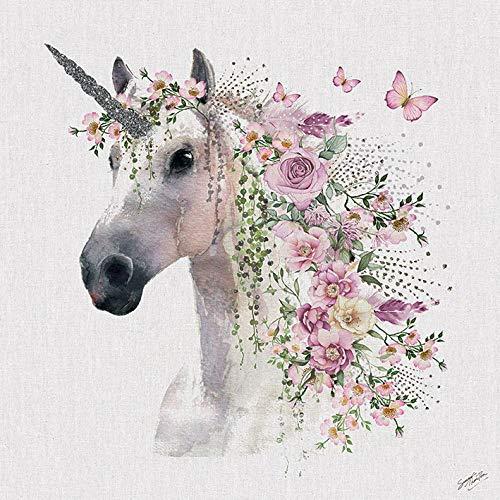 Unicorn Canvas Wall Art  Amazon Co Uk