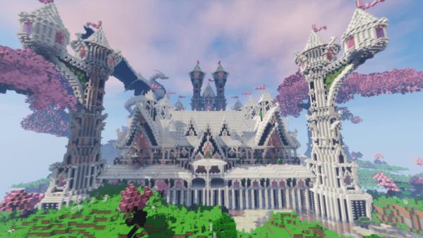 Unicorn Castle Minecraft Project