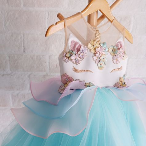 Unicorn Dress—   Honeybeekids  Honeybee_kids  Instakids