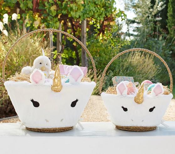 Unicorn Easter Basket Liners