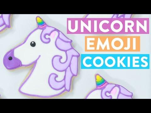 Unicorn Emoji Cookies Ft Lilly Singh