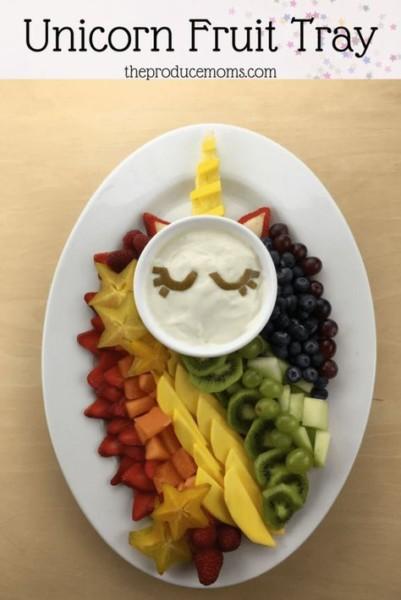 Unicorn Fruit Tray