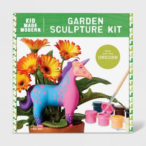 Unicorn Garden Sculpture Kit Purple