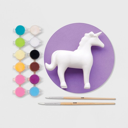 Unicorn Garden Sculpture Kit Purple