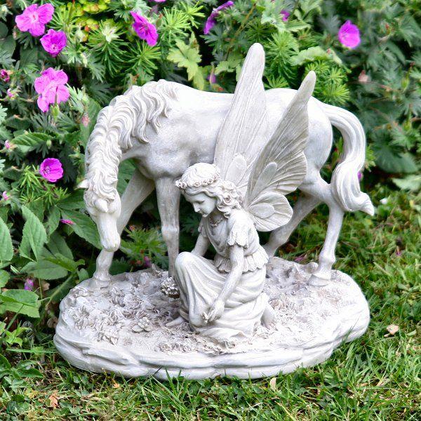 Unicorn Garden Statue What A Wonderful Way To Decorate The Garden