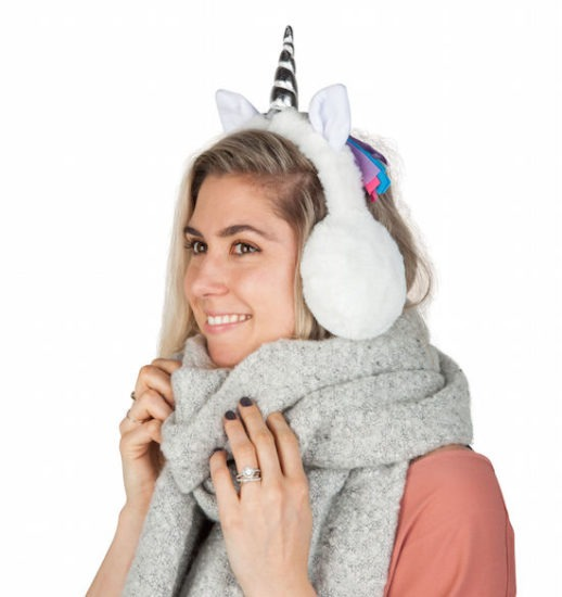 Unicorn Horn Ear Muffs (yes, You Read That Correctly)