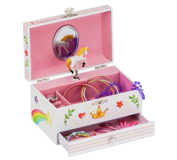Unicorn Musical Jewellery Box – Not Everyone Grows Up