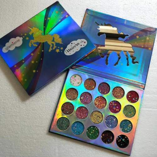 Unicorn Palette By Glamierre Eyeshadow Palette 20 Colors