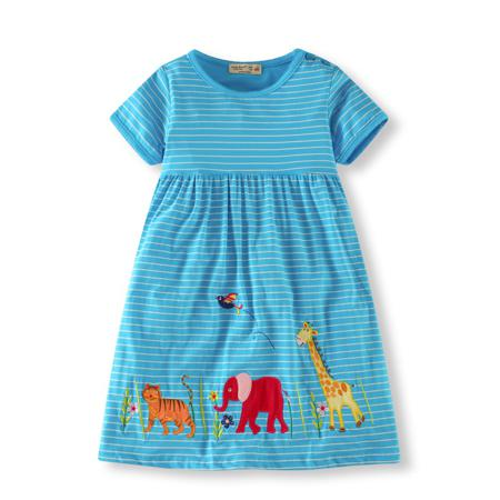 Unicorn Party Kids Dresses For Girls Robe