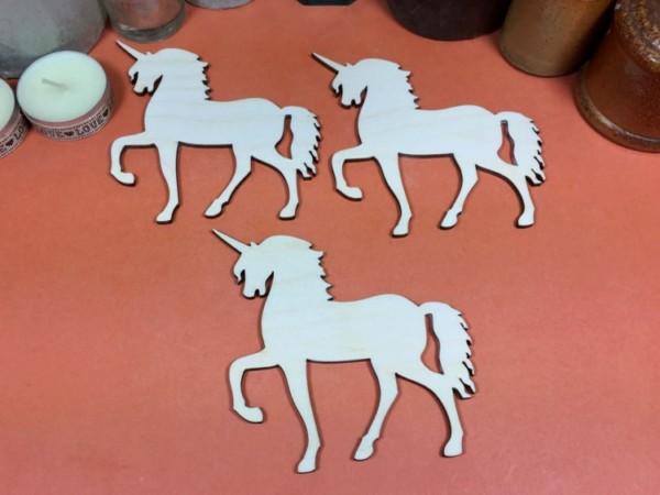 Unicorn (plywood) 10cm