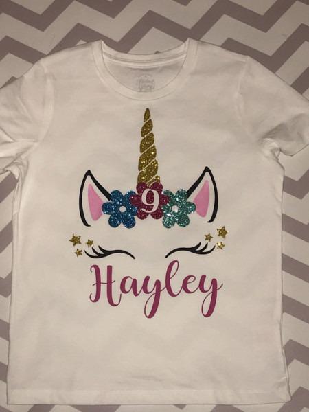Unicorn Shirt Girls Unicorn Birthday Shirt In 2019