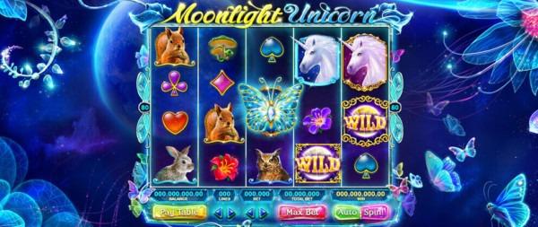 Unicorn Slots Moonlight Slot Machine Game