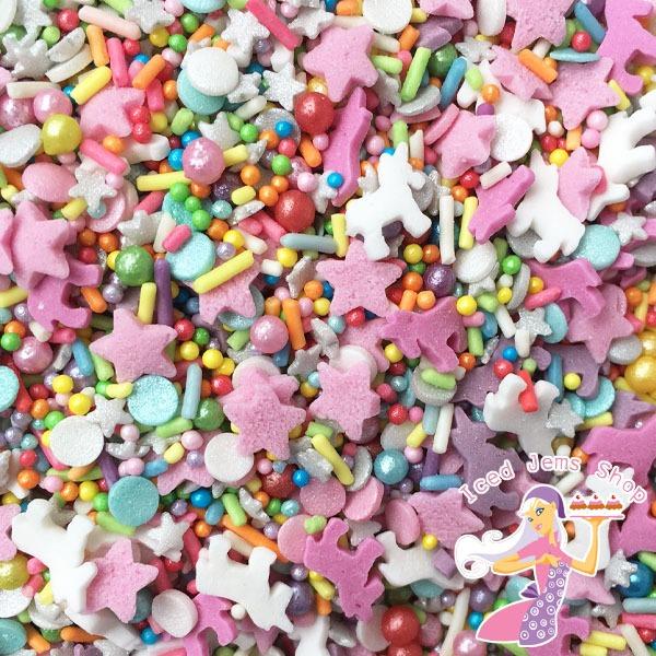 Unicorn Sprinkle Mix Pot
