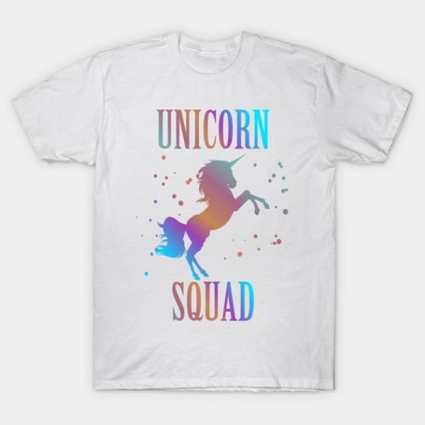 Unicorn Squad Enchanted Rainbow Fantasy Fairy Tale